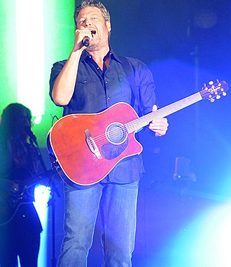 Blake Shelton - Blake Shelton at the 2017 Warrior Games opening ceremony