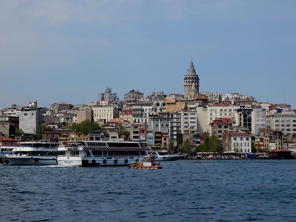 Vista de Beyoglu (antiguo barrio de Pera), en Estambul.