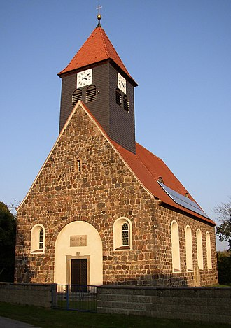Niedergörsdorf - Image: Bloensdorf church