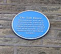 Blue Plaque on wall of Toll House Bookshop - geograph.org.uk - 500180.jpg