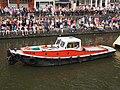 Boat 66 De Nederlandsche Bank, Canal Parade Amsterdam 2017 foto 9, sleepboot Tommy ENI 02205947.JPG