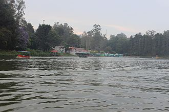 Ooty - Boat House on Ooty Lake