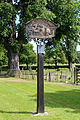 Bobbingworth, Essex, England - Bovinger village sign.JPG