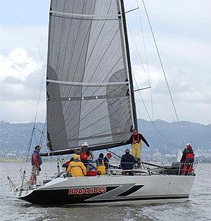Farr Yacht Design - Farr 40 1 Ton Bodacious racing on San Francisco Bay