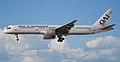 Boeing 757-200 of Omni Air International landing at McCarran International Airport.jpg