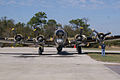 Boeing B-17G-85-DL Flying Fortress Nine-O-Nine Landing Taxi 31 CFatKAM 09Feb2011 (14983921005).jpg