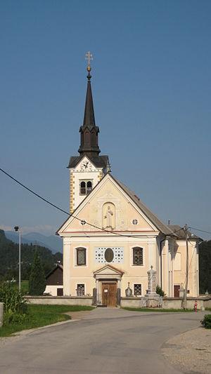 Bohinjska Bela - St. Margaret's Church in Bohinjska Bela
