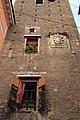 Bologna, ancient tower, modern hotel.JPG