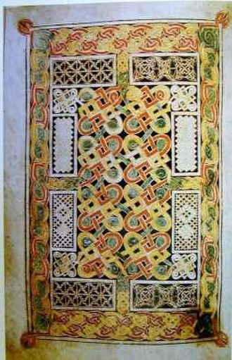 Carpet page - Image: Book Durrow Carpet Page 5