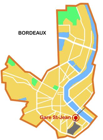 Station Gare Saint-Jean (Tram de Bordeaux) - Station Gare St-Jean