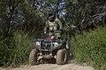Border Patrol Agent Patrols South Texas Border on an All Terrain Vehicle (ATV) (11934008863).jpg