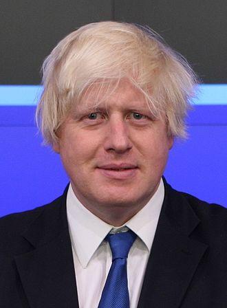 London mayoral election, 2012 - Image: Boris Johnson (cropped)