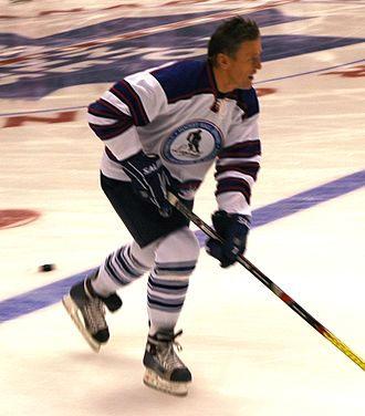 Börje Salming - Salming with All-Star Legends 2008 in Toronto