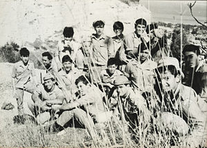 Gadna (Israel) - 10th graders at Gadna class, 1969