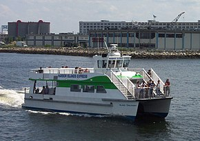 Ferry From Hingham To Boston Harbor Islands