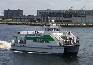 Boston Harbor Islands National Recreation Area - Ferries of the Harbor Islands Express link downtown Boston with some of the islands.
