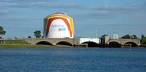 Rainbow Swash - Boston gas tank
