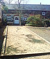 Boules at Hilton Court courtyard - geograph.org.uk - 1210640.jpg