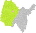 Bourg-en-Bresse (Ain) dans son Arrondissement.png