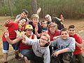 Boy Scout Troop 105 from Longneck Delaware at Kiptopeke State Park (13382192655).jpg