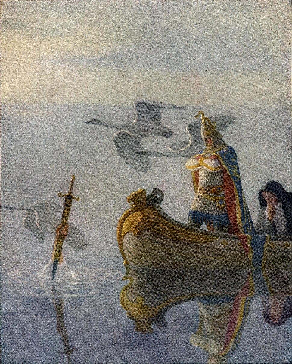 Boys King Arthur - N. C. Wyeth - p16