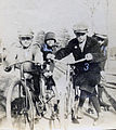 Boys on bicycles from Agrant family photograph (4858066483).jpg