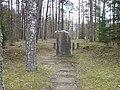Brāļu kapi Tēraudos WWI, Tēraudi, Salaspils pagasts, Salaspils novads, Latvia - panoramio - M.Strīķis (3).jpg
