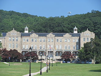 Mount St. Mary's University - Bradley Hall is the main Administration building