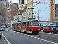 Bratislava, Staré Mesto, Špitálská, Tramvaj T3 SUCS modernizovaná.jpg