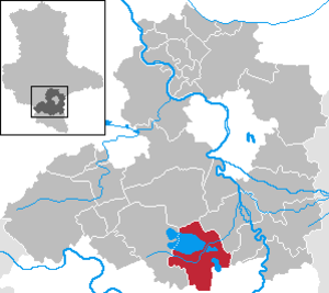 Braunsbedra - Image: Braunsbedra in SK