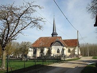 Braux, Aube - Image: Braux église 01