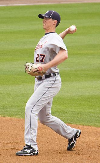 Brent Dlugach - Dlugach with the Detroit Tigers