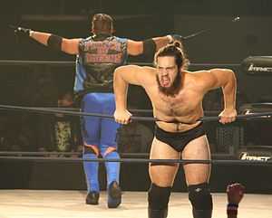 Trevor Lee - Trevor Lee (right) with Brian Myers in October 2015