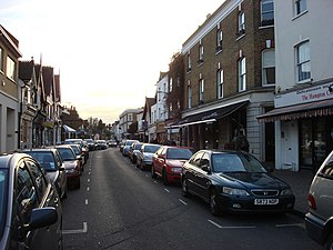 Molesey - Image: Bridge Road geograph.org.uk 1170972