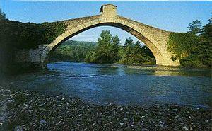 Panaro (river) - Bridge of Olina