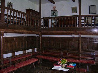 Brigflatts Meeting House - Interior