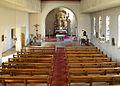 Brilon, Hoppecke, St. Mariä-Heimsuchung, Blick von der Empore auf den Altar.jpg