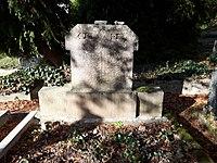 Brilon-Jüdischer Friedhof, Grabstein Aronstein-2018-11-03.jpg