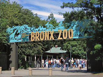 Bronx Zoo - Asia Gate Entrance