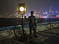 Bronze Statue in Star Ferry.JPG