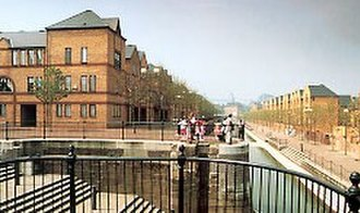 Broseley Estates Limited - Image: Broseley Development at Spirit Quay Wapping completed between 1984 and 1986