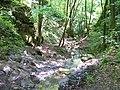 Bubovické vodopády, horní část, shora.jpg
