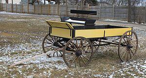 Buckboard - Contemporary buckboard, Farmington Hills, Michigan