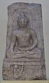 Buddha - Limestone - Circa 4th Century AD - Amravati - Archaeological Museum - Amravati - Andhra Pradesh - Indian Buddhist Art - Exhibition - Indian Museum - Kolkata 2012-12-21 2342.JPG