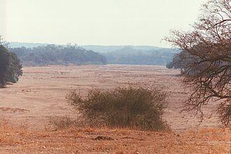 Gonarezhou National Park - Buffalo Bend on the Mwenezi River, Gonarezhou National Park, Zimbabwe
