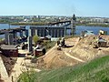 Building of Nizhny Novgorod metro bridge (28.04.2008) (6).jpg