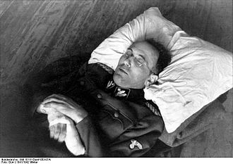 Franz Walter Stahlecker - A wounded Stahlecker on 22 December 1941
