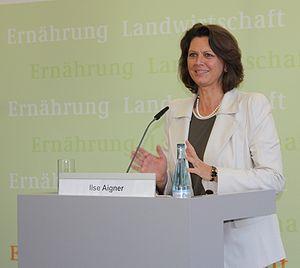 Deutsch: Ilse Aigner, Bundesministerin für Ern...