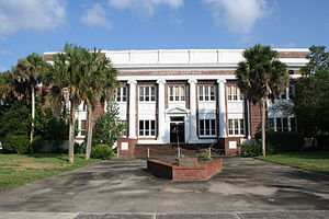 Flagler County, Florida - Image: Bunnell, FL, Courthouse, Flagler County, 08 08 2010 (2)