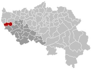 Burdinne - Image: Burdinne Liège Belgium Map